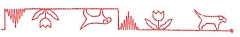 چرخ خیاطی ژانومه 5001